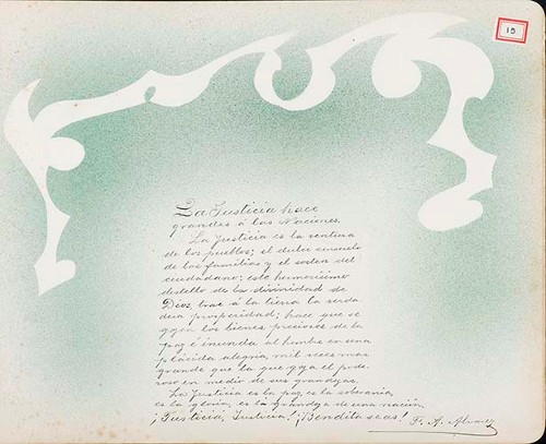 Imagen de Lámina de F. A. Álvarez; para Francisco I. Madero (atribuido)