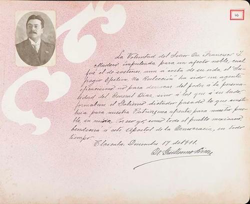 Imagen de Lámina de Guillermo Lima; para Francisco I. Madero (atribuido)