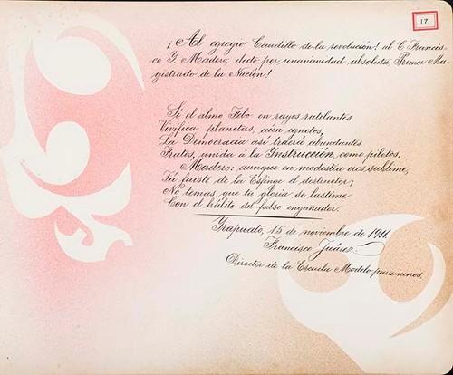 Imagen de Lámina de Francisco Juárez; para Francisco I. Madero (atribuido)