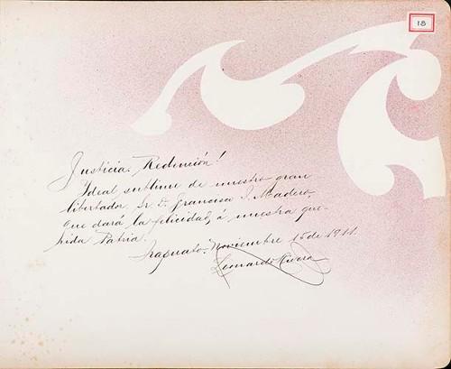 Imagen de Lámina de Leonardo Rivera; para Francisco I. Madero (atribuido)