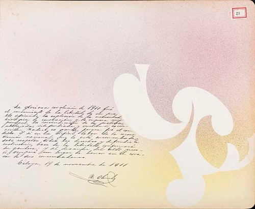 Imagen de Lámina de M. Olmedo; para Francisco I. Madero (atribuido)