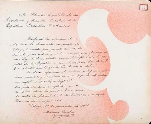 Imagen de Lámina de Manuel Concha; para Francisco I. Madero (atribuido)