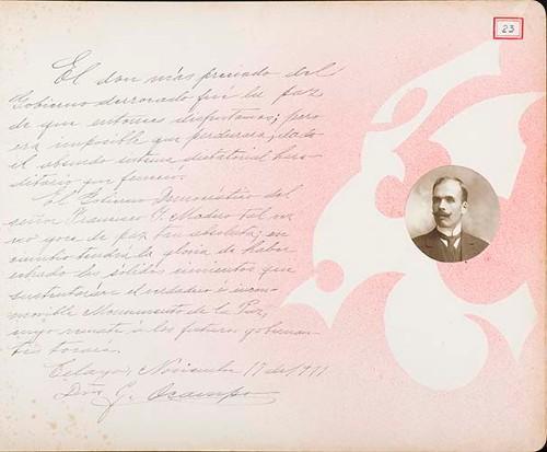 Imagen de Lámina de G. Ocampo; para Francisco I. Madero (atribuido)