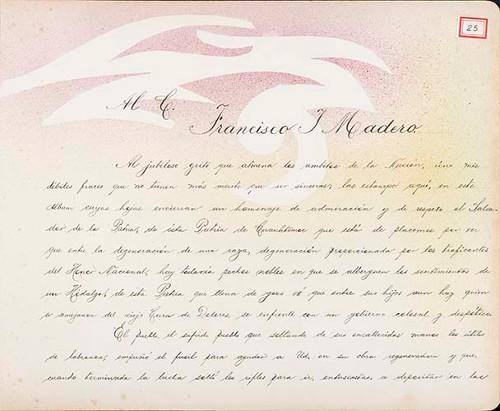 Imagen de Lámina de Manuel M. Ramos; para Francisco I. Madero (atribuido)