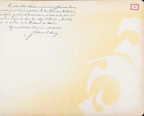 Imagen de Lámina de Antonio S. Muñoz; para Francisco I. Madero (atribuido)