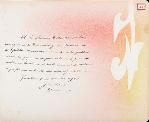 Imagen de Lámina de Ing. Julio Peredo; para Francisco I. Madero (atribuido)