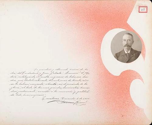 Imagen de Lámina de Severiano Romo; para Francisco I. Madero (atribuido)