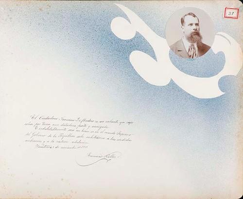 Imagen de Lámina de Luciano Robles; para Francisco I. Madero (atribuido)