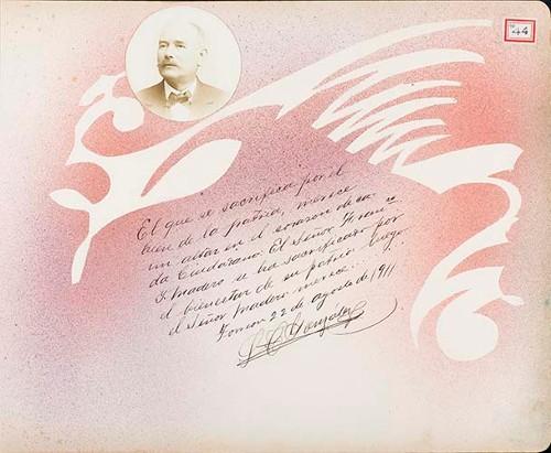 Imagen de Lámina de C. González; para Francisco I. Madero (atribuido)