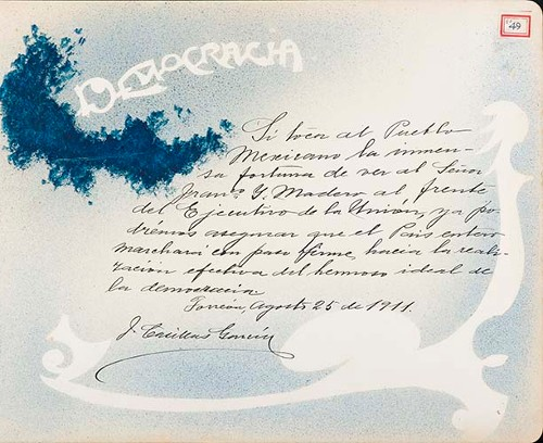 Imagen de Lámina de J. Casillas García; para Francisco I. Madero (atribuido)