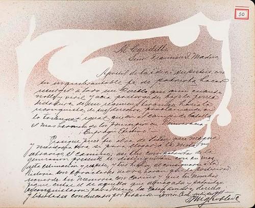 Imagen de Lámina de Miguel Robles; para Francisco I. Madero (atribuido)