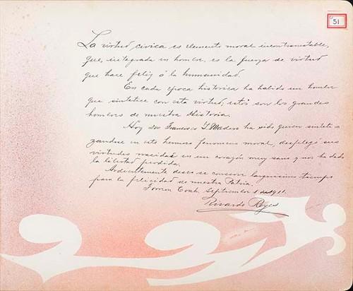 Imagen de Lámina de Ricardo Reyes; para Francisco I. Madero (atribuido)