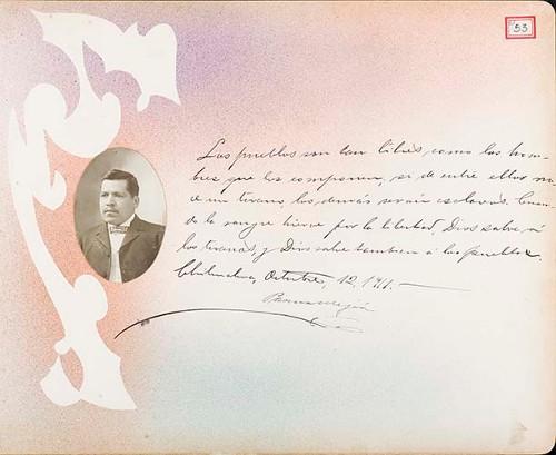 Imagen de Lámina de Pascual Mejía; para Francisco I. Madero (atribuido)