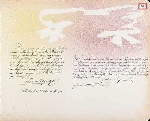 Imagen de Lámina de Luis Salgado y Julio S. [Jamila]; para Francisco I. Madero (atribuido)