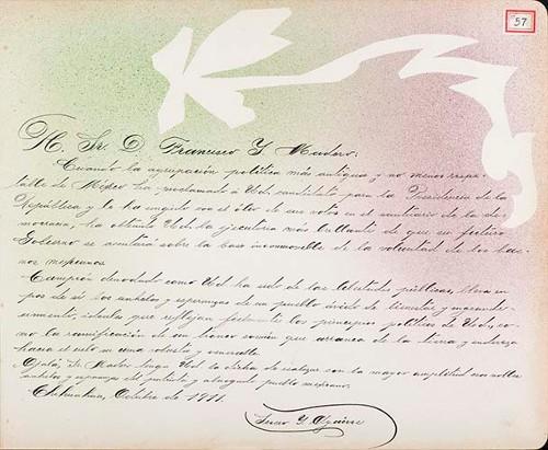 Imagen de Lámina de Severo I. Aguirre; para Francisco I. Madero (atribuido)