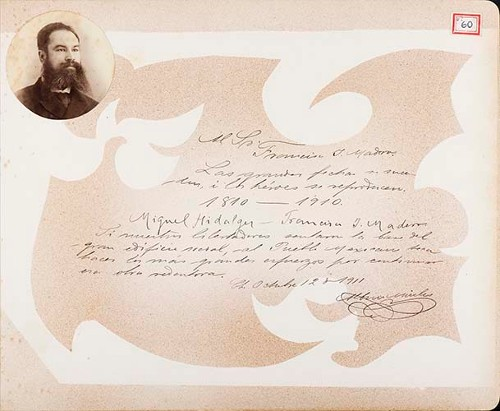 Imagen de Lámina de Albino Aviles; para Francisco I. Madero (atribuido)
