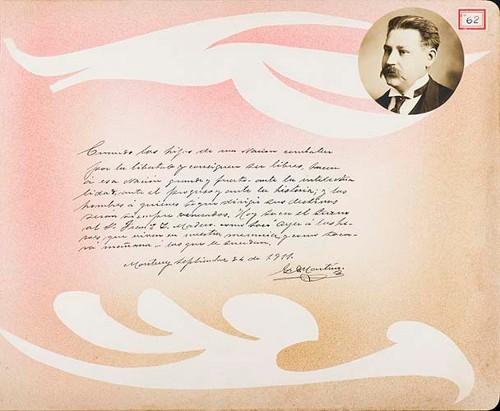 Imagen de Lámina de G. Martínez; para Francisco I. Madero (atribuido)