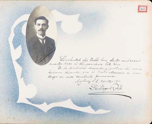 Imagen de Lámina de Santiago Roel; para Francisco I. Madero (atribuido)