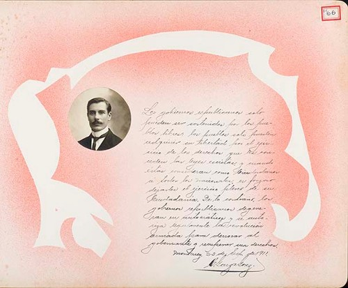 Imagen de Lámina de C. Garza González; para Francisco I. Madero (atribuido)