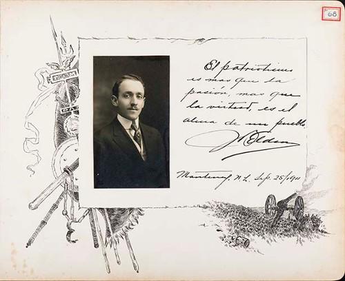 Imagen de Lámina de [H. Elden]; para Francisco I. Madero (atribuido)