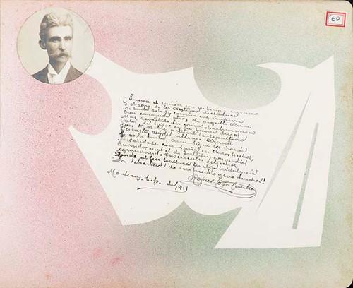 Imagen de Lámina de Rafael Gaza Cantú; para Francisco I. Madero (atribuido)