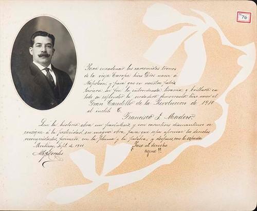 Imagen de Lámina de [A. Morales]; para Francisco I. Madero (atribuido)