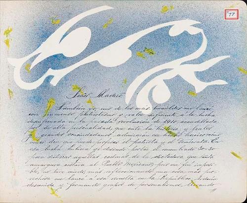 Imagen de Lámina de J. Uriel Carrasco; para Francisco I. Madero (atribuido)