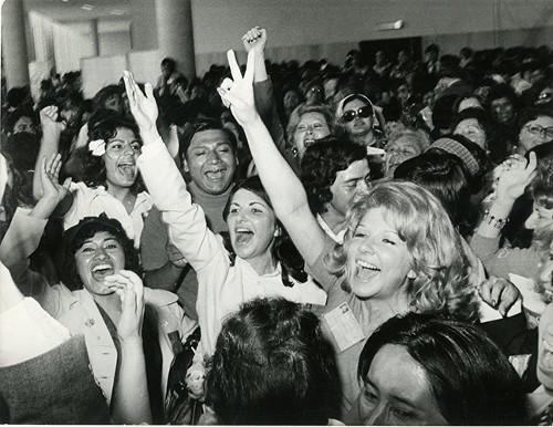 Imagen de En el Centro Médico, último día del Programa del Año Internacional de la Mujer, celebrado en la Ciudad de México 1975 (atribuido)
