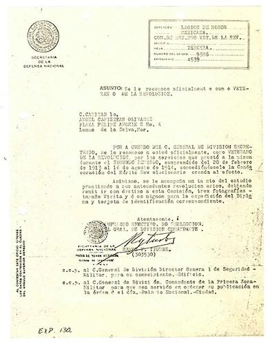 Imagen de Expediente de Capistrán Olivares, Ángel