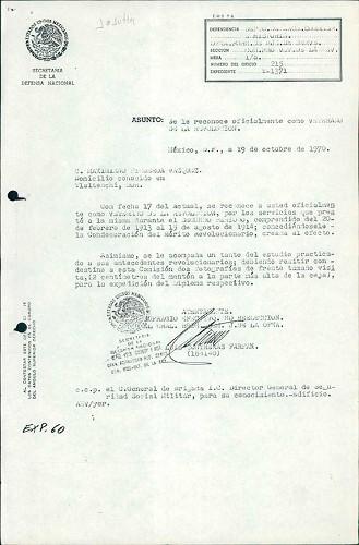 Imagen de Expediente de Figueroa Vázquez, Maximiano