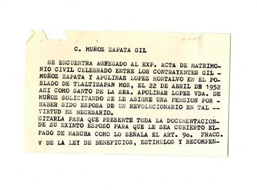 Imagen de Expediente de Muñoz Zapata, Gil