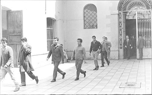 Imagen de Estudiantes liberados del Penal de Lecumberri (propio)