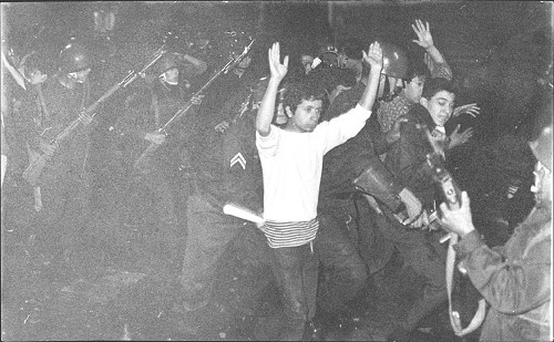 Imagen de Estudiantes detenidos (propio)