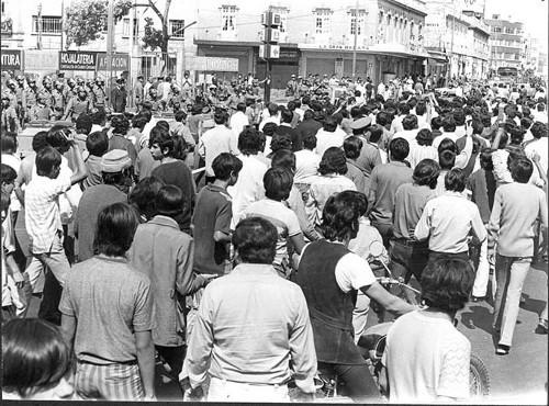 Imagen de Manifestación estudiantil (propio)