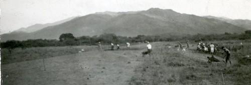 Imagen de Preparando la tierra para sembrar (propio)