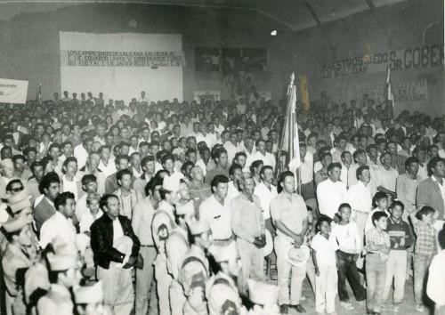 Imagen de Manifestación de campesinos de Guerrero a favor del gobernador Eduardo Livas (propio)