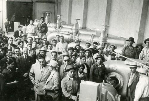 Imagen de Inauguración de la sala de bombas (propio)