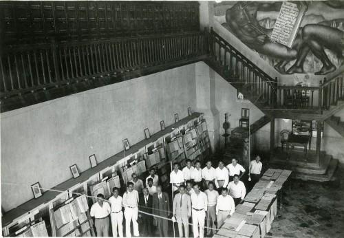 Imagen de Interior de la Casa del Agrarista (propio)
