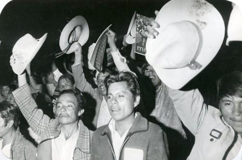 Imagen de Manifestación de campesinos (propio)