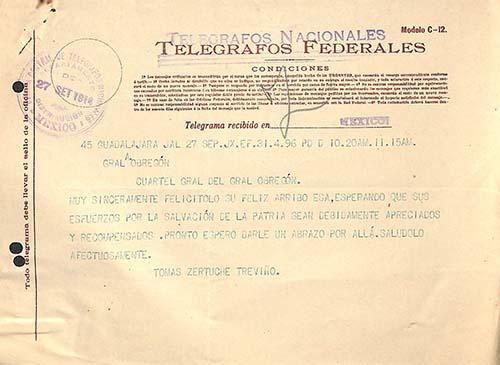 Imagen de Correspondencia, Obregón Álvaro (atribuido)