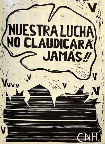 Imagen de Nuestra lucha no claudicará jamás (propio)