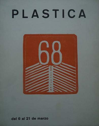 Imagen de Invitación a la exposición Plástica 68 (atribuido)