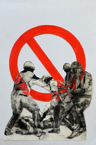 Imagen de Cartel conmemorativo del movimiento estudiantil de 1968 (propio)