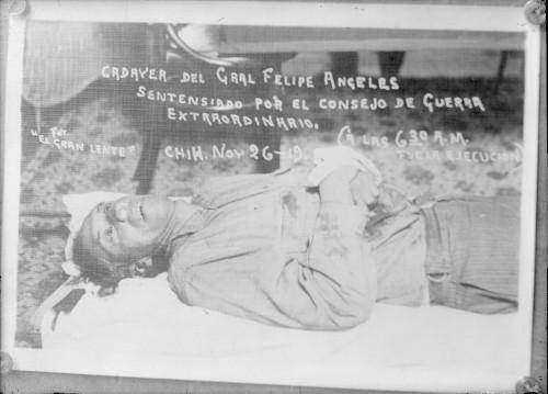 Imagen de Cadáver de Felipe Ángeles