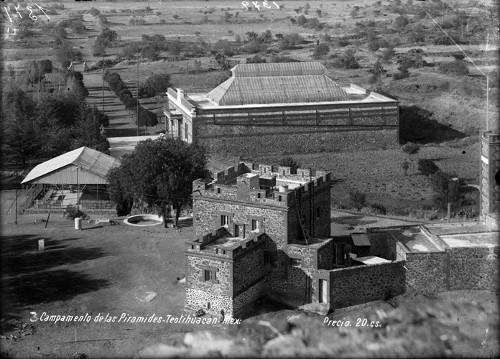 Imagen de Campamento de las pirámides-Teotihuacán (propio)