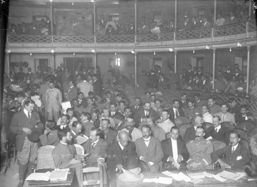 Imagen de Delegados de la Convención en el salón
