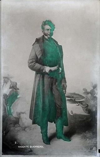 Imagen de Vicente Guerrero, retrato (atribuido)