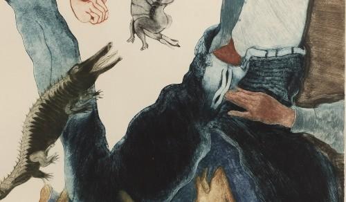 Imagen de El hombre del pantalón azul (propio)