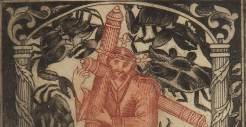 Imagen de Jesús Nazareno, de la carpeta Nuevo Catecismo para Indios Remisos (propio)