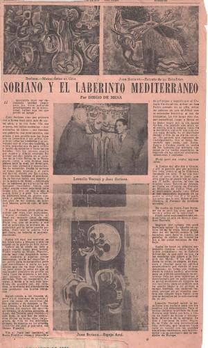 Imagen de Soriano y el laberinto mediterráneo (propio)